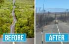 Queste due foto a confronto mostrano tutta la devastante potenza degli incendi in Australia