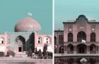 Eine weiße Flagge an jedem historischen Ort im Iran: ein friedensförderndes Projekt eines Architekten