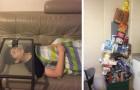 Queste 21 foto ridefiniscono completamente il concetto di pigrizia
