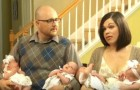 They could not have children, but in the end, they had quadruplets (two boys and two girls)