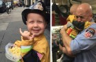 Shortly before his disappearance, this sick child made his dream come true: to become a friend of the firefighters
