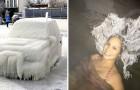17 foto's van over de hele wereld laten ons zien dat wintertemperaturen echte meesterwerken kunnen creëren