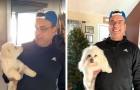 Han får i uppgift av sin fru att hämta hunden från salongen men när han kommer hem upptäcker han att han tagit fel hund