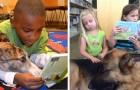 Questi bimbi leggono ad alta voce per i cani di rifugi e canili: l'iniziativa riscuote un grande successo