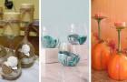14 idee fantastiche per riutilizzare bicchieri e calici di vetro in deliziosi lavoretti creativi
