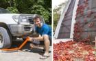 Wanderung der roten Krabben auf Christmas Island: Die Autos sind mit speziellen