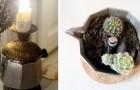 12 irresistibili idee per riciclare e decorare con brio la vostra moka che non funziona più