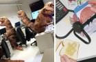 Diese 17 Fotos zeigen, dass es mit den richtigen Kollegen, auch bei der Arbeit, nie langweilig wird