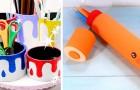 7 idee colorate e creative per riciclare i tubi di cartone e trasformarli in lavoretti da provare subito
