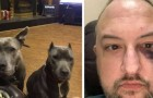 This man adopted two pit bulls from an animal shelter and they thanked him by saving his life during a robbery