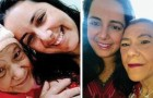 Ihre Familie verließ sie, als sie krank war, aber eine Krankenschwester adoptierte sie, und dank ihr kam sie wieder ins Leben zurück