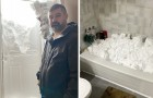 Queste immagini mostrano tutta la potenza dell'eccezionale tempesta di neve che ha colpito il Canada