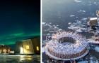 Questo albergo in Svezia accoglie i suoi ospiti in spettacolari strutture