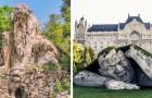24 sculpturen van over de hele wereld die het landschap waarin ze zijn ingevoegd met originaliteit verrijken
