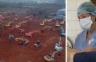 China, im Bau befindliches neues Krankenhaus für den Coronavirus-Notfall: in 6 Tagen könnte es fertig sein