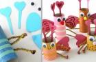 4 irresistibili lavoretti per San Valentino: le idee per creare farfalle con i rotoli di carta igienica