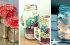 13 progetti facili e colorati per riciclare i barattoli in vetro e utilizzarli in tanti modi diversi