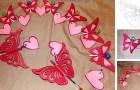 Il metodo rapido e facilissimo per creare farfalle di carta in uno splendido kirigami