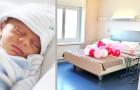På den här förlossningsavdelningen kan föräldrar och barn sova i en dubbelsäng och känna sig som hemma