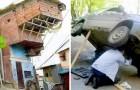 17 Beispiele, wo die Hausarbeit zu einer der Schwerkraft trotzenden Handlung geworden ist