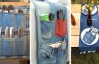 13 idee creative per riciclare i vecchi jeans e trasformarli in tanti oggetti diversi