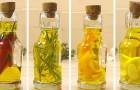 4 ricette semplici per condimenti gustosi con olio da cucina aromatizzato fatto in casa