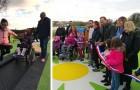 In questo parco giochi i bimbi con disabilità possono giocare e divertirsi insieme a tutti gli altri
