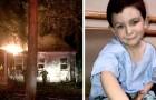 Questo bambino di 5 anni ha salvato tutta la sua famiglia fiutando un incendio che stava divampando in casa