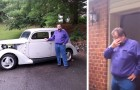 A father sells his vintage car to pay for his daughter's education and she secretly buys it back 21 years later