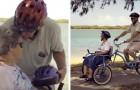 An ingenious husband invents a special bicycle so that he can ride with his wife who has Alzheimer's