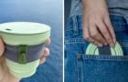 Il existe des tasses en silicone et en bambou pour boire le café : elles sont réutilisables et respectueuses de l'environnement