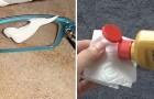 9 trucchi semplici ed economici per far tornare come nuove le lenti degli occhiali sporche o graffiate
