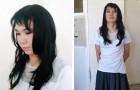 Er verkleidet sich als Frau, um seiner Freundin zu helfen, ihr Examen zu bestehen, aber der Tonfall verrät ihn