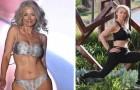 Esta mujer tiene 56 años y sigue modelando: con su físico envidiable ha borrado todo prejuicio