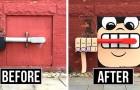 Cet artiste remplit les rues de New York de couleur et d'insouciance en embellissant les murs, les bouches d'égout et les tuyaux