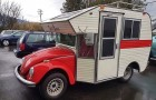 Half Kever, half camper: deze hybride is een zeer zeldzame auto waardoor je op reis wilt gaan