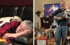14 photos de papas qui ne voulaient pas de chien et qui maintenant ne peuvent plus s'en passer