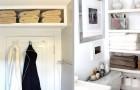 11 soluzioni economiche e ingegnose per ottimizzare lo spazio in bagno con mensole e ripiani