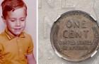 Um garoto encontra uma moeda que vale US$ 200.000 e a guarda por toda a sua vida sem saber o seu valor