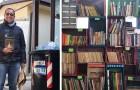 In questa libreria si