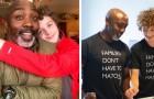 Un papá soltero adopta un joven de 11 años, demostrando que una familia no se juzga por el color de la piel