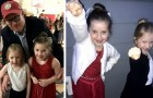 He risks being late at the father-daughter dance because the plane is late: passengers let him off first