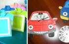 Festa del papà: 10 semplici lavoretti per bambini da fare con carta, gomma crepla e non solo