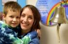 Le diagnostican un tumor a la madre y leucemia al hijo: después de 3 años logran combatir la enfermedad