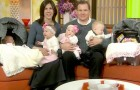 Um casal adota três crianças porque não consegue ter filhos biológicos, mas depois ela fica grávida de gêmeos