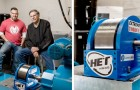 Vader en zoon maken een turbine voor elektrische voertuigen die energie kunnen besparen tegen een betaalbare prijs