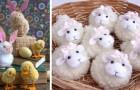 11 idee brillanti per realizzare fantastici lavoretti di Pasqua riciclando scampoli di lana