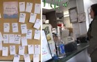 Neste restaurante os clientes dão uma mão a quem precisa deixando bilhetes com comidas e bebidas pagas