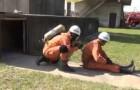 Les pompiers japonais: une efficacité à toute épreuve!!