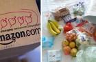 Jusqu'au 5 avril 2020, Amazon donnera la priorité à l'achat de produits de première nécessité tels que la nourriture et les produits ménagers